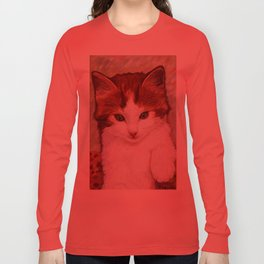 Copper kitten Long Sleeve T-shirt