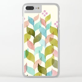 Climbing Vines Clear iPhone Case