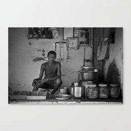 Chaiwala  Canvas Print