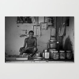 Chaiwala  Canvas Print