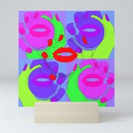 Dancing Mirror Mini Art Print