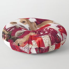 Holiday Christmas Still Life Food Cookie Floor Pillow