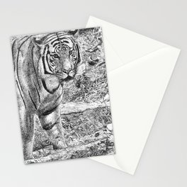 Malayan Tiger (Harimau) Stationery Cards