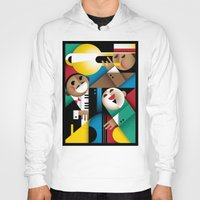 jazz Hoodies featuring Jazz by Szoki