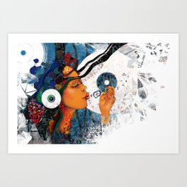 birth of a tune Art Print