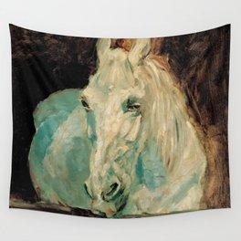 The White Horse Gazelle - Henri Toulouse-Lautrec Wall Tapestry