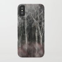 ohio iPhone & iPod Cases featuring Ohio Trees by Pringle Art