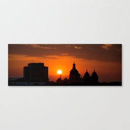 Wichita Sunset Canvas Print