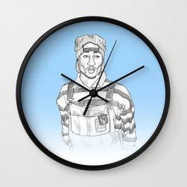 Tupaca Wall Clock