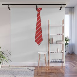 Red Tie Wall Mural