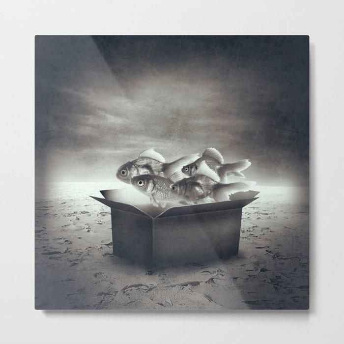 Abstract Dream I Metal Print