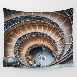 Vatican Museums Staircases Wall Tapestry