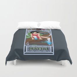 Crysta Nouveau - Fern Gully Duvet Cover