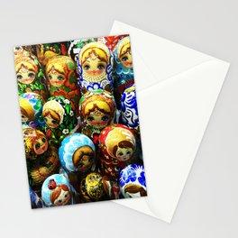 Matryoshka Dolls Souvenir Booth Photo Stationery Cards