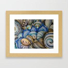 Majestic Coral Framed Art Print