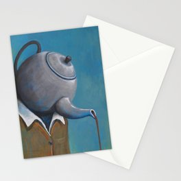 Constant Dribble (tea pot) Stationery Cards