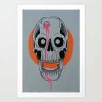 headshot Art Print