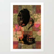 Dueling Phonographs VII Art Print