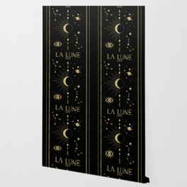 The Moon or La Lune Gold Edition Wallpaper