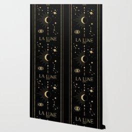 The Moon or La Lune Gold Edition Wallpaper
