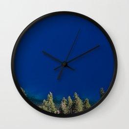 Crater Lake Blue II Wall Clock