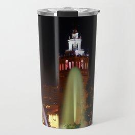 JC Nichols Memorial Fountain Travel Mug