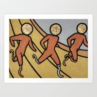 Para Athletics, Running -Sport Fever Art Print