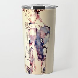 Purple Lady Travel Mug