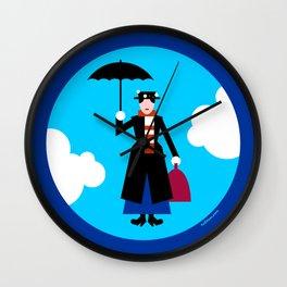 Magical nanny Wall Clock