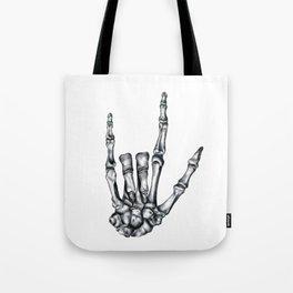 Love Never Dies Tote Bag