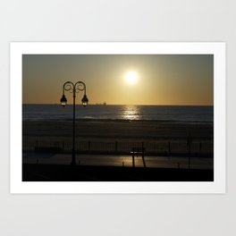 belmar sunrise  Art Print