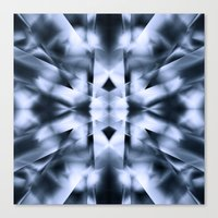 metal Canvas Prints featuring Metal by Assiyam