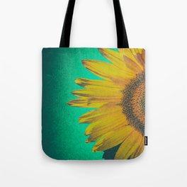 Sunflower vintage Tote Bag
