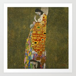 Gustav Klimt - Hope II Art Print