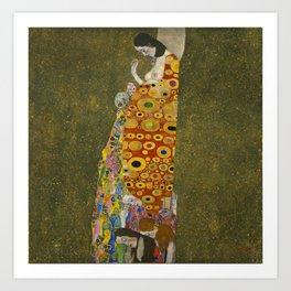 Gustav Klimt - Hope II Art Print