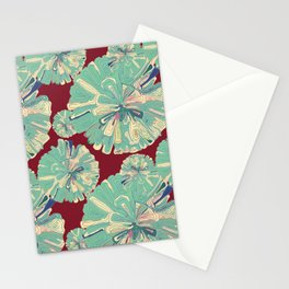 Colorful gift - Doodle Flower Stationery Cards