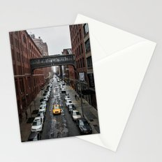 Iconic New York Taxi Stationery Cards