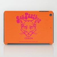 anchorman iPad Cases featuring ANCHORMAN - Sex Panther  by John Medbury (LAZY J Studios)