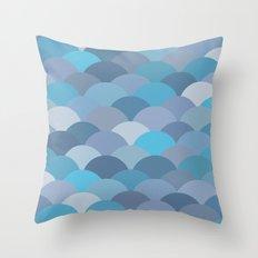 Circles Abstract 6 Throw Pillow