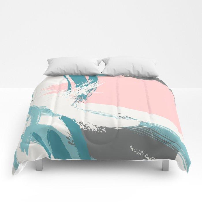 Quiet pastel Comforters