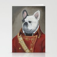 marc jacobs Stationery Cards featuring Marc-Antoine Bouledogue by William Joseph Speer
