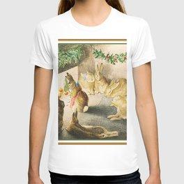 Beatrix Potter Christmas bunnies T-shirt