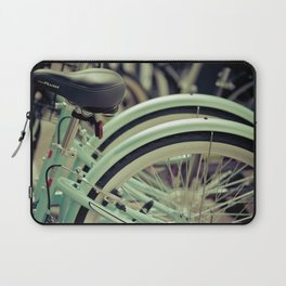 """Life is like a ten speed bicycle. Most of us have gears we never use."" ~Charles M. Schulz~ Laptop Sleeve"