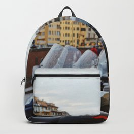 Ponte Vecchio Florence Italy Backpack