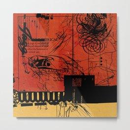 ANALOG ZINE / BETTER GIT IT IN YOUR SOUL Metal Print