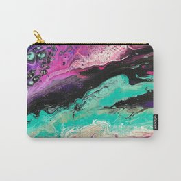 Acrylic Pour Pattern Universe Carry-All Pouch