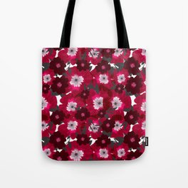 Flowers Overflowing Tote Bag