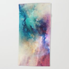 Dreaming by Nature Magick Beach Towel