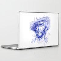 clint barton Laptop & iPad Skins featuring Clint by MOK designz