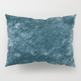 Peacock teal velvet Pillow Sham